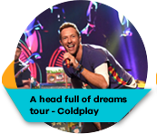 A Head Full of Dreams Tour - Coldplay