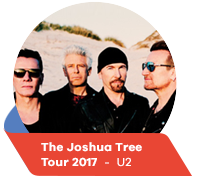 The Joshua Tree  Tour 2017  -  U2