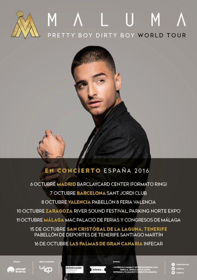 Maluma sigue sumando fechas a su gira por espa a m sica for Oficinas de ibercaja en barcelona