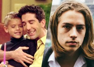 Así está ahora BEN, el hijo de Ross Geller de Friends