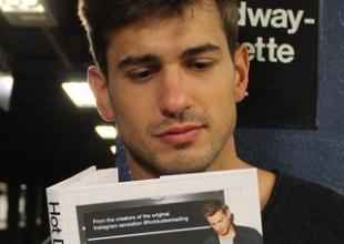 Hot dudes reading