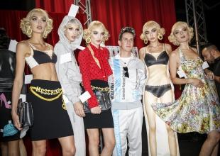 Moschino la vuelve a liar en la Semana de la Moda de Milán