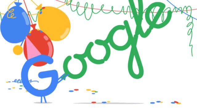 google cumple aos