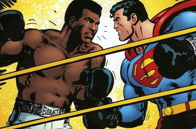 Muhammad Ali y Superman