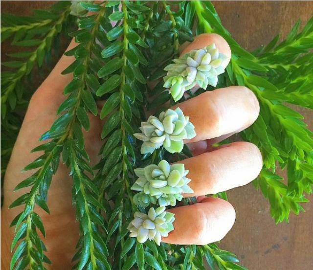La última locura \'beauty\' son las uñas con plantas | Moda y Belleza ...