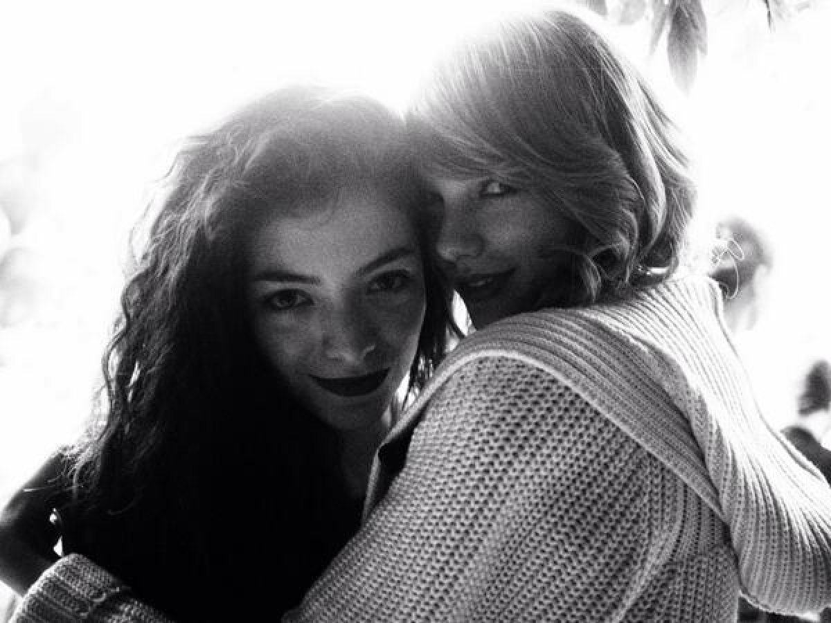 Lorde y Taylor Swift