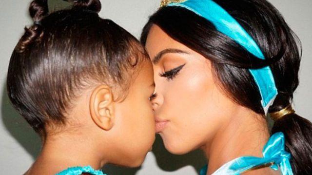 Kim Kardashian reaparece convertida en la princesa Jasmín