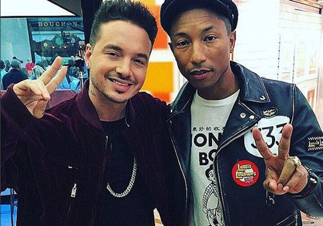 ¡'Safari', de J Balvin feat Pharrell Williams, vuelve a lo alto de la lista!