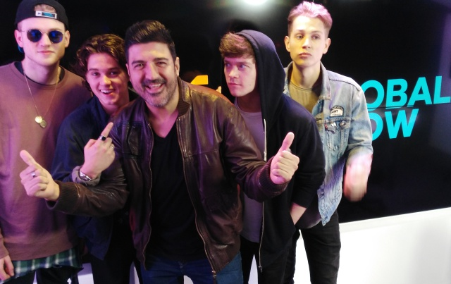Tony Aguilar entrevista a The Vamps