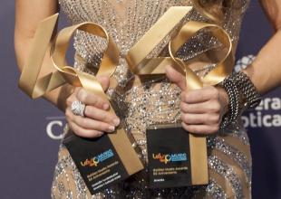 Las entregas de los Golden Awards dejan sonrisas irrepetibles