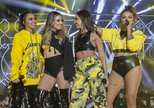 Las chicas de Little Mix lo dan todo sobre el escenario