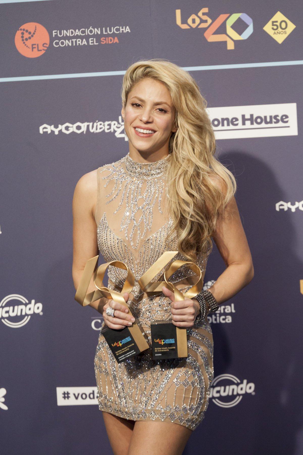 Shakira, la reina de LOS40 Music Awards
