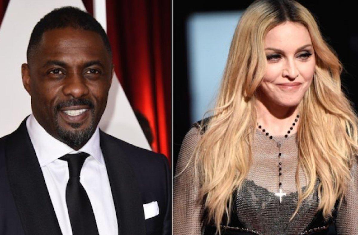 Madonna e Idris Elba