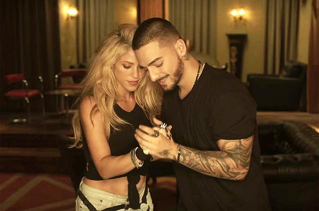 ¡El número 1 de Navidad es para Shakira y Maluma!