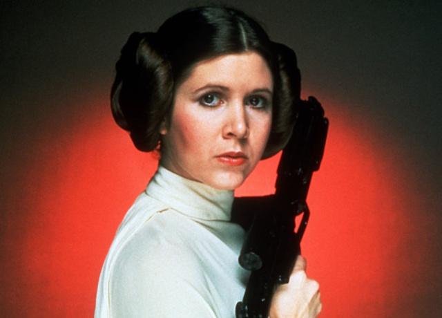 Muere Carrie Fisher, la mítica princesa Leia