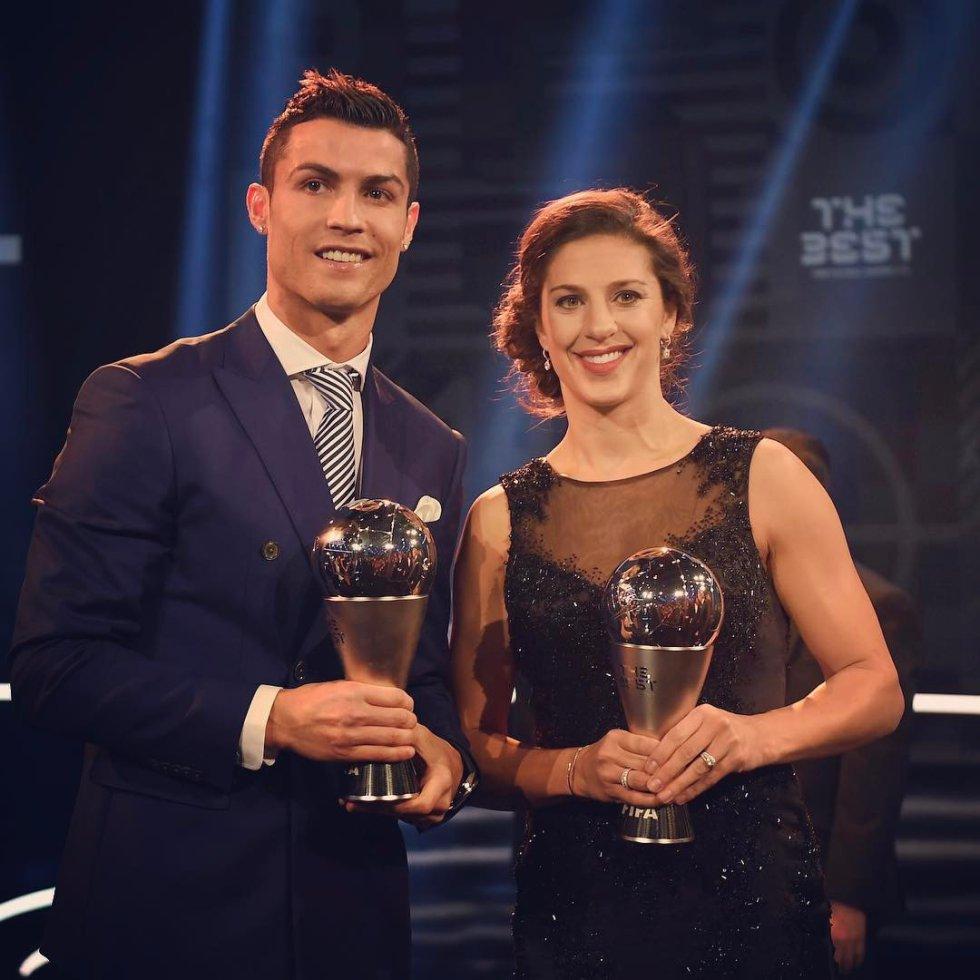 Cristiano Ronaldo presenta en sociedad a su novia Georgina Rodríguez