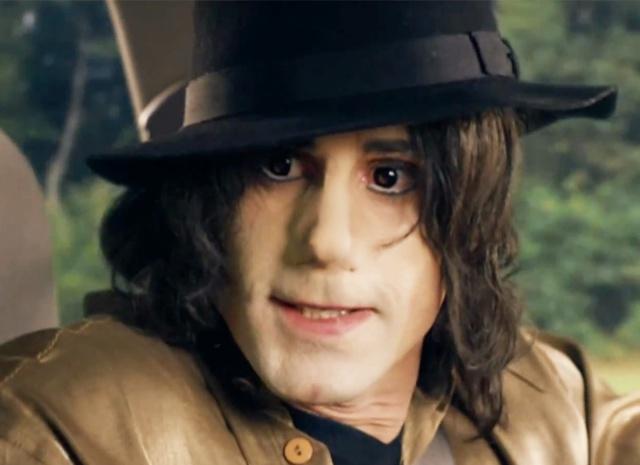 Así de ¿bien? luce Joseph Fiennes como Michael Jackson
