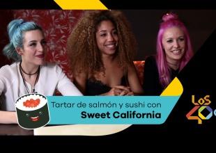 Aprende a hacer Sushi con Sweet California y Chef40