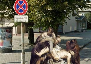 ¿Se puede ver a Napoléon por las calles de Street View? Sí, y también Jesucristo