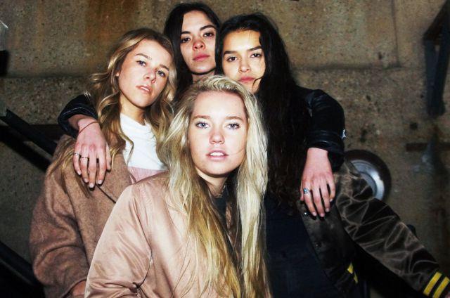 Son 4 chicas de Utah que van a comerse el mundo. ¿Listo para ser ingerido?