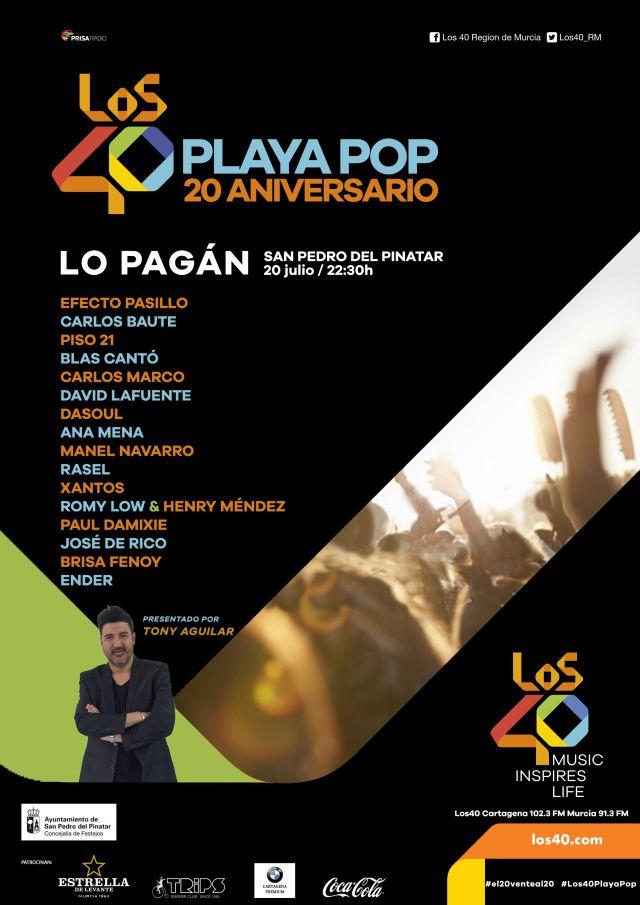 LOS40 Playa Pop: 20 años de la mayor concentración de artistas a ...