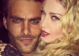 El modelo español y la Reina del Pop se llevan genial