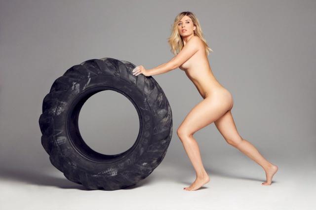 Cristina Boscá Desnuda En El Mismo Número De Womens Health Que
