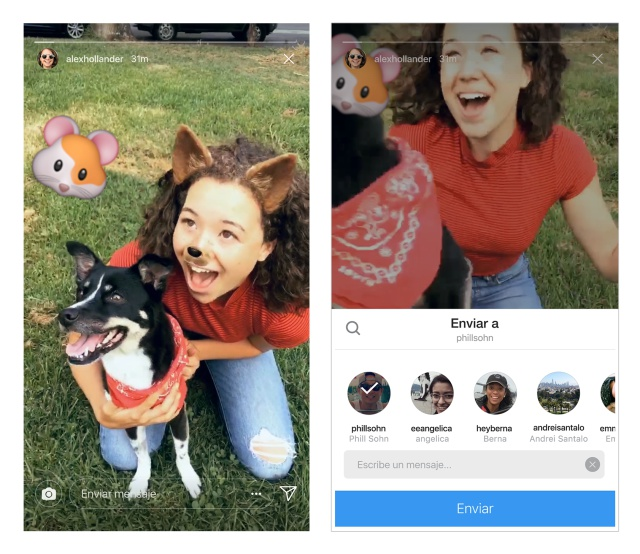 Compartir 'Instagram Stories' de forma secreta a tus amigos ya es posible