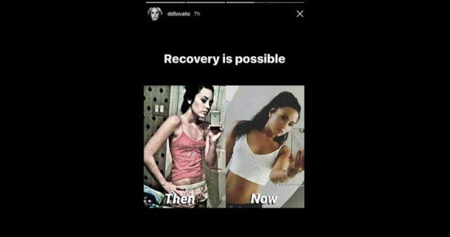 La fuerte foto de Demi Lovato cuando era anorexica