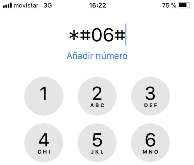 06#, las cifras que debes marcar en el móvil por tu seguridad ... on
