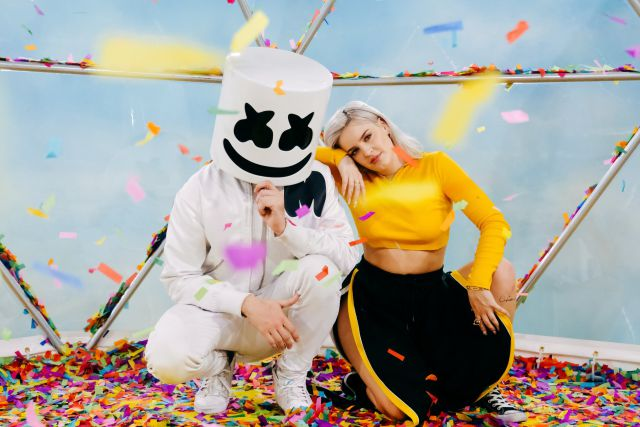 Image result for Marshmello & Anne-Marie - FRIENDS