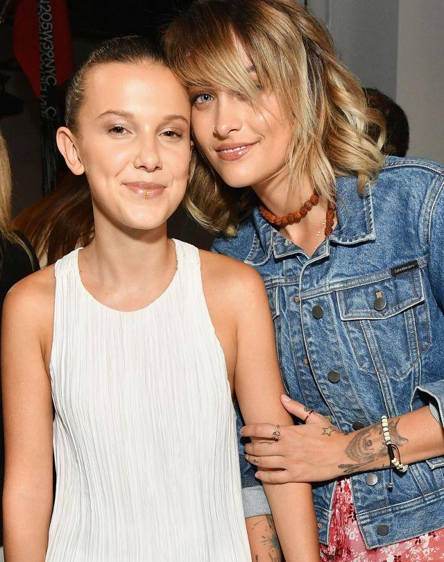 Millie Bobby Brown y Paris Jackson posan juntas para Calvin Klein