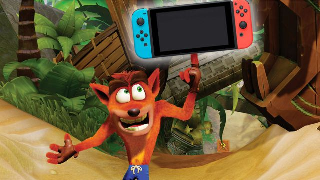 Crash Bandicoot desembarca en Xbox One y Switch