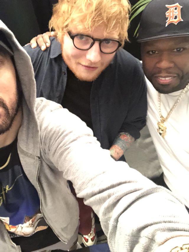 Rihanna, Ed Sheeran, 50 Cent... ¡No empieza mal la cosa!
