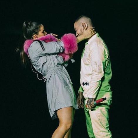 Ambos artistas han compartido escenario en Los Ángeles este fin de semana