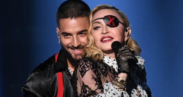 Ricky Martin y Madonna reguetonean junto a Maluma