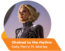 Chained to the rhythm - Katy Perry Ft. Marley