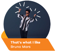 That's what I like - Bruno Mars