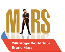 24K Magic World Tour - Bruno Mars