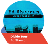 Divide Tour - Ed Sheeran