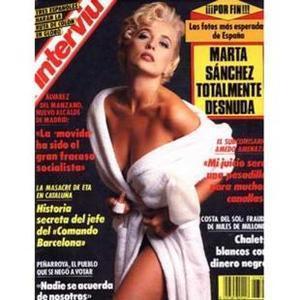 Marta Sánchez Mi Desnudo Ha Sido El Mas Caro En La Historia De