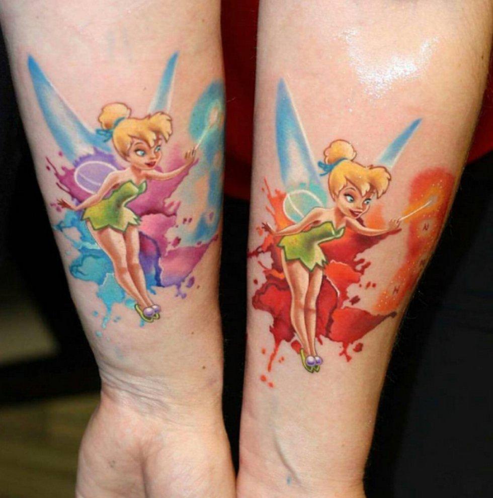 Lo último Tatuajes Inspirados En Series De Animación