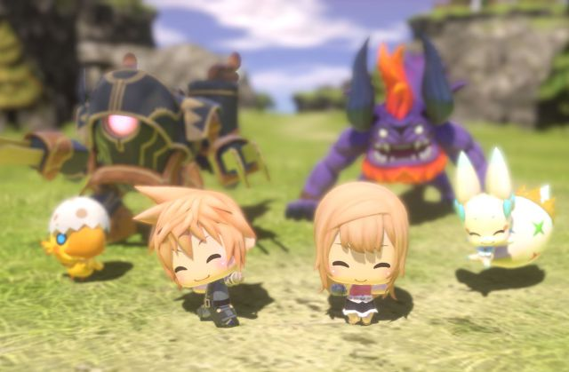 En World of Final Fantasy todo es pequeñito y adorable