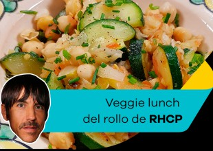 CHEF40 prepara un Veggie Lunch a lo Red Hot Chili Peppers