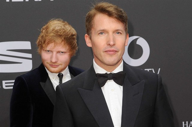 James Blunt, Ed Sheeran