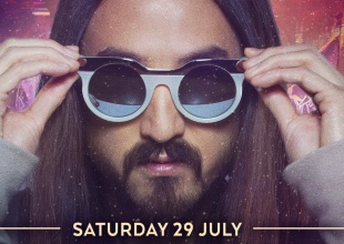 Steve Aoki, primer artista confirmado en Unite With Tomorrowland