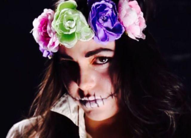 Videos De Maquillaje De Halloween.Halloween 2017 Cinco Maquillajes Rapidos Para Halloween Sin