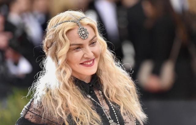 Subastan Varias Fotos De Madonna Desnuda Música Los40