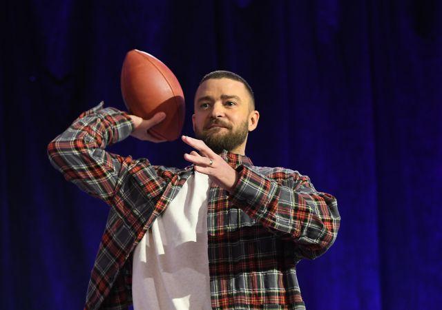 357d8641e7d52 Las zapas de Justin Timberlake en la Super Bowl se agotaron en 5 minutos