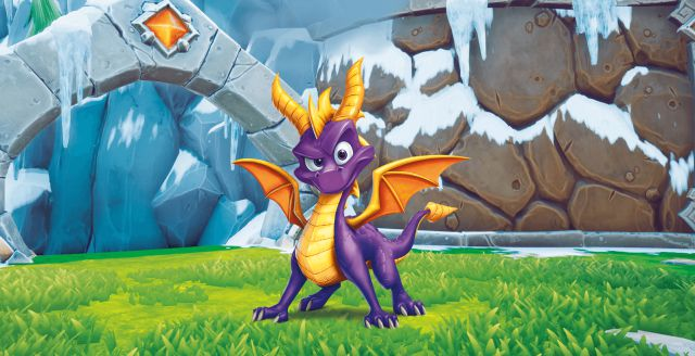'Spyro The Dragon' sigue los pasos de Crash Bandicoot